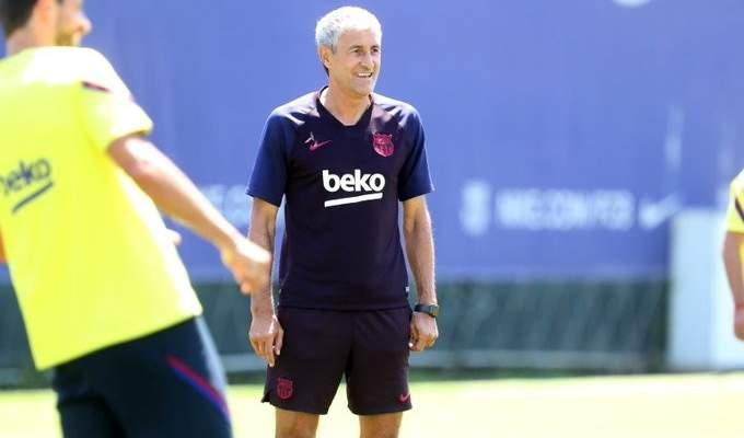 سيتيين يكشف عن قائمة برشلونة لمواجهة اسبانيول