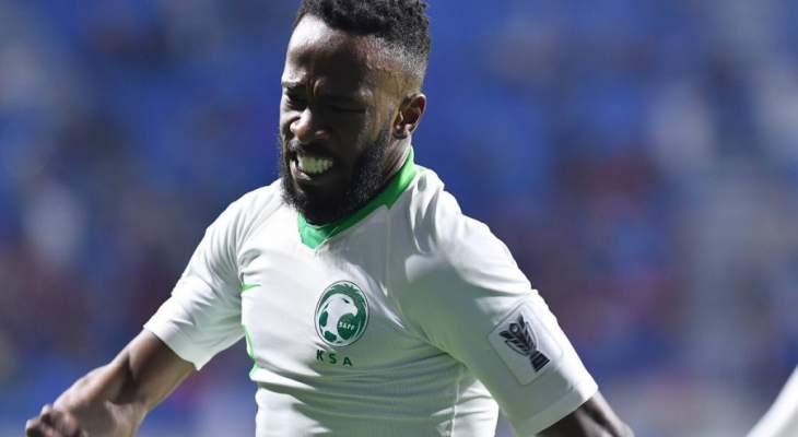 كأس آسيا: انتهاء الشوط الاول بتقدم السعودية 1-0 على لبنان