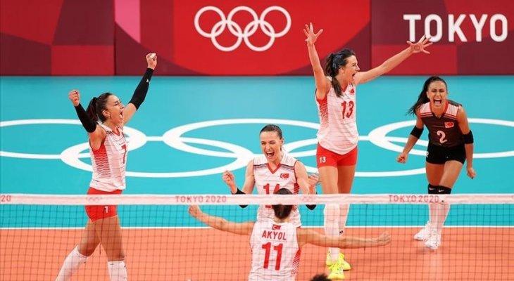 طوكيو 2020 : تأهل سيدات روسيا وتركيا لربع نهائي كرة الطائرة