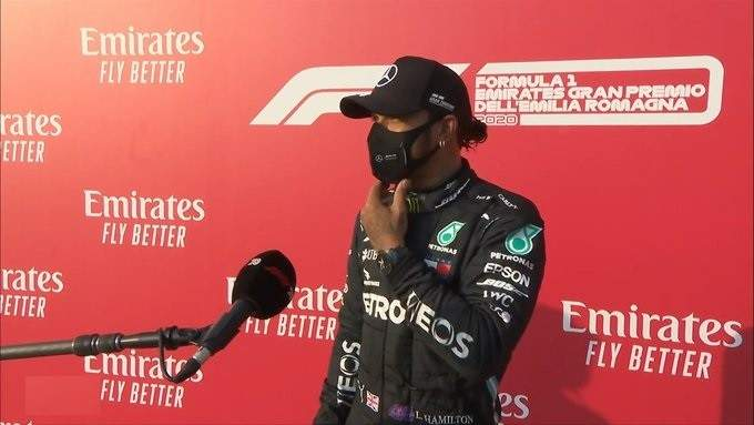 هاميلتون: اللفة الاخيرة كانت سيئة وآمل ان يكون السباق جيد