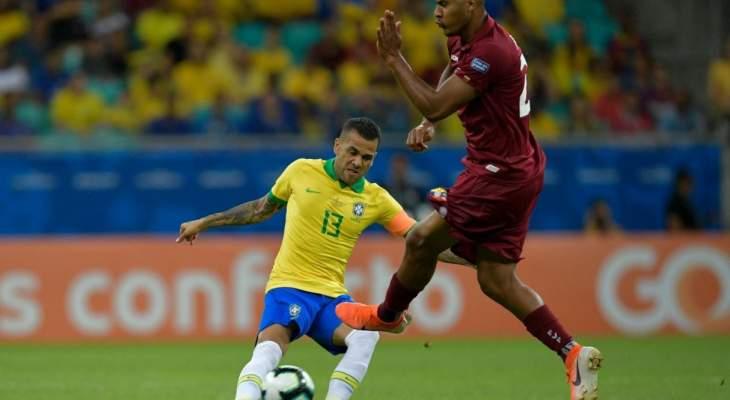 تقييم اداء لاعبي مباراة البرازيل وفنزويلا