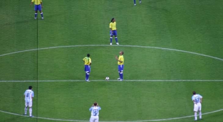 خاص: الارجنتين اضاعت فرصة العودة امام البرازيل وشيفشنكو منع ميلان من الفوز عام 2005
