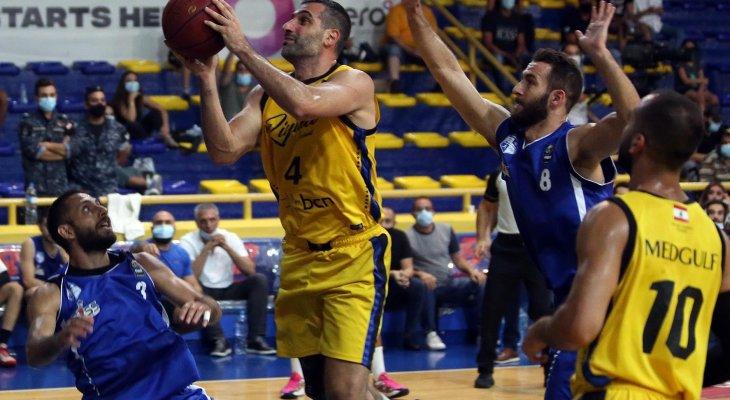 سلة لبنان: الرياضي يتقدم 3 - 0 في السلسلة النهائي امام الشانفيل ويقترب من لقب جديد