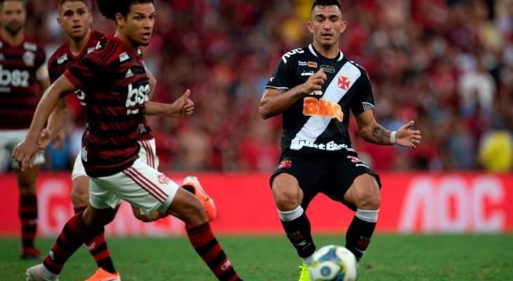الدوري البرازيلي: جوياس يوقف سلسلة إنتصارات فلامينغو