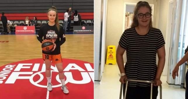 مراهقة بريطانية تقهر مرض نادر لتلعب كرة السلة مجدداً