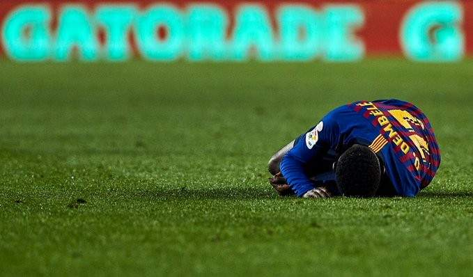 ريبول: تقرير برشلونة حول اصابة ديمبيلي صحيح تماماً