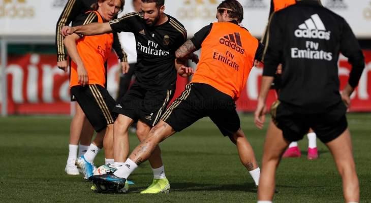 غيابات بالجملة في تدريبات ريال مدريد