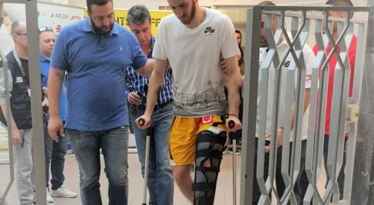 عرقجي يشارك في مباراة لكرة السلة على الكرسي المتحرك