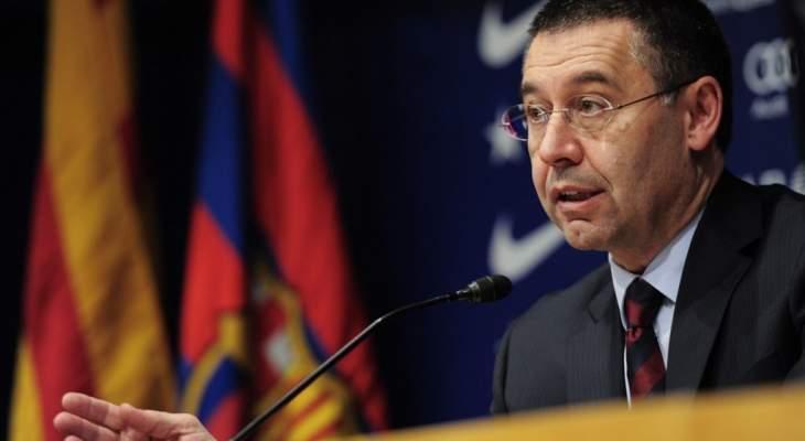 بارتوميو يؤكد ان ميسي سيستمر مع برشلونة ويتحدث عن سواريز