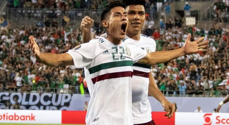 الكأس الذهبية: تأهل روتيني للمكسيك الى ربع النهائي