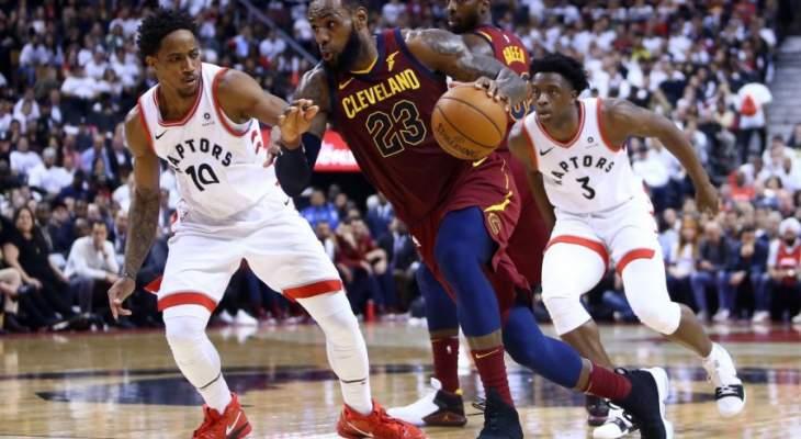 NBA PLAYOFFS : كليفلاند وبوسطن يتقدمان 2 - 0 في سلسلة نصف النهائي