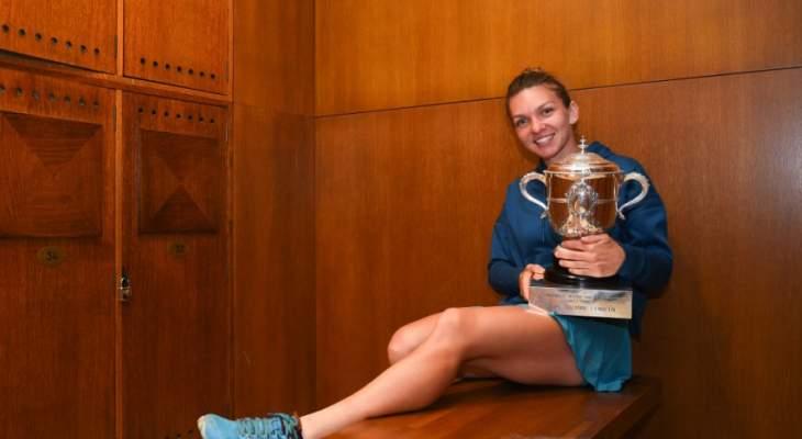 هاليب تتابع سيطرتها على صدارة التصنيف العالمي للاعبات التنس المحترفات