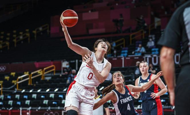 طوكيو 2020: سيدات اليابان تتخطى فرنسا في كرة السلة وانتصار لكل من اميركا وبلجيكا