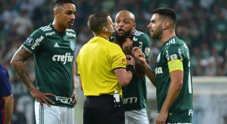 فيليبي ميلو يُطرد بعد أربع دقائق على إنطلاقة مباراة فريقه