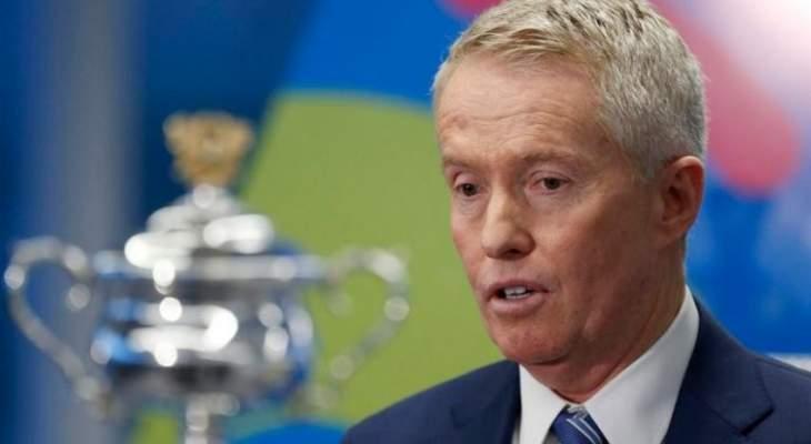 تيلي: من الصعب استكمال مواجهات التنس عام 2020