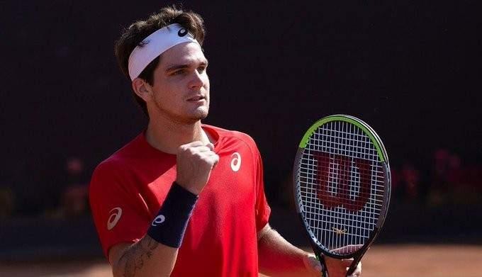 الكورونا يستهدف اول لاعبي كرة المضرب