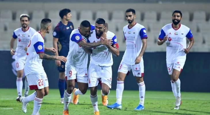 الدوري الاماراتي : بني ياس والشارقة بالعلامة الكاملة بعد نهاية الجولة الثالثة
