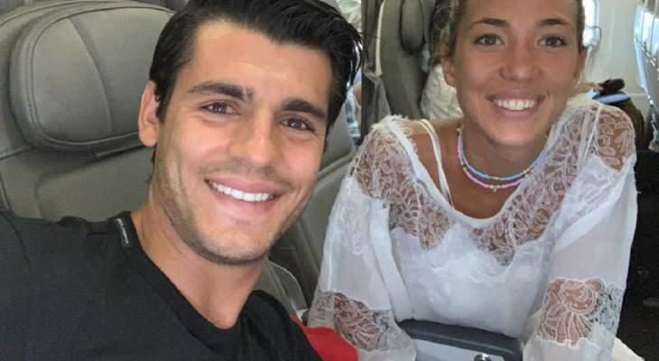 موراتا يحتفل بالذكرى الثانية لزواجه من اليس كامبيلو