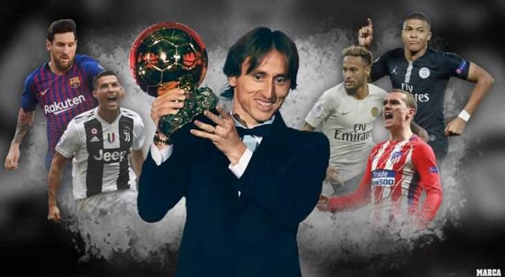 الماركا: من سيفوز بلقب الكرة الذهبية عام 2019 ؟