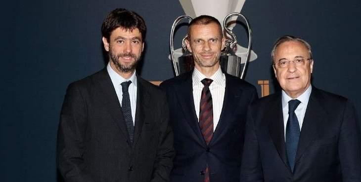 إجتماع مطول بين رئيسي ريال مدريد ويوفنتوس