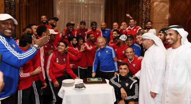 العين الاماراتي يحتفل بوصافة كأس العالم للأندية