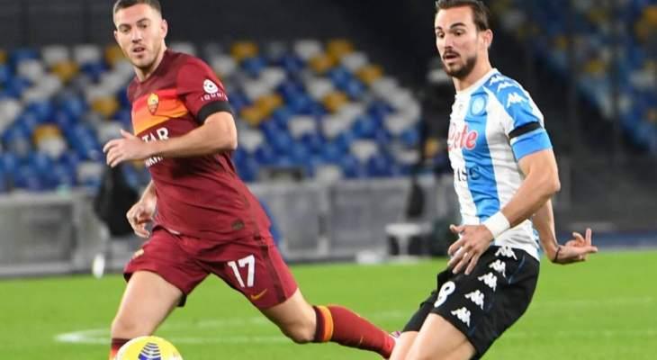 احصاءات عن مباراة نابولي-روما