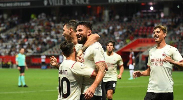 جيرو يفتتح سجل الأهداف مع ميلان وفوز يوفنتوس