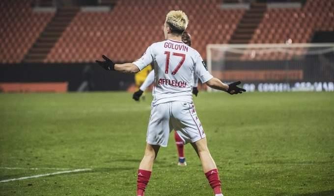 الليغ 1: رين يقع في فخ التعادل امام نانت وفوز مثير لموناكو امام لوريان