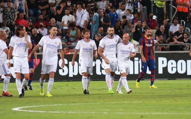 اهداف مباراة اساطير ريال مدريد وبرشلونة