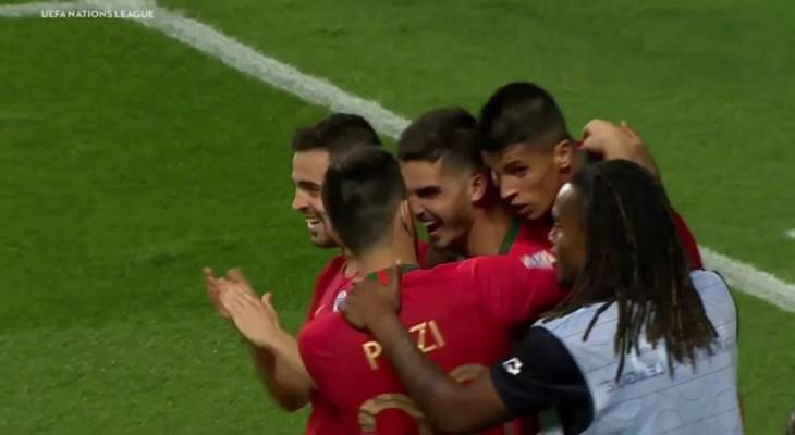 هدف البرتغال الوحيد في مرمى ايطاليا