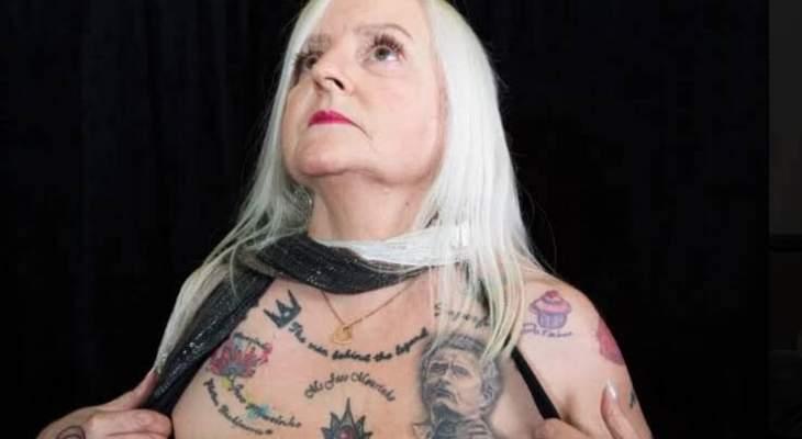 مشجّعة مهووسة بمورينيو رسمت 38 وشمًا له على جسدها