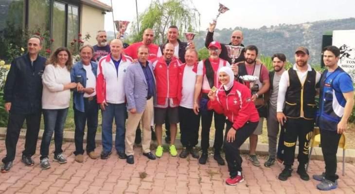لقاء ودي بين لبنان والأردن بالرماية : لقب التراب لموسى والسكيت لسماحة