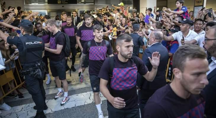 رحلة برشلونة الروتينية الى بلباو تتحول الى مشكلة للفريق الكتالوني
