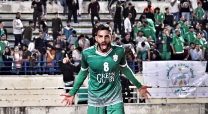 """غازي حنيني يكشف لـ"""" السبورت"""" اسباب اعتزاله كرة القدم مبكرا"""