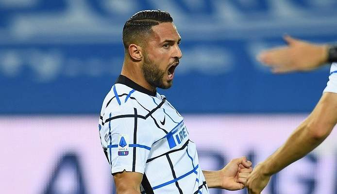 مدافع الإنتر يسجل أسرع هدف في الكالتشيو هذا الموسم