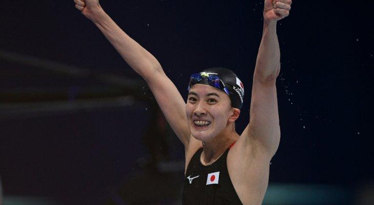 أوهاشي تحرز ذهبيتها الثانية في السباحة بأولمبياد طوكيو