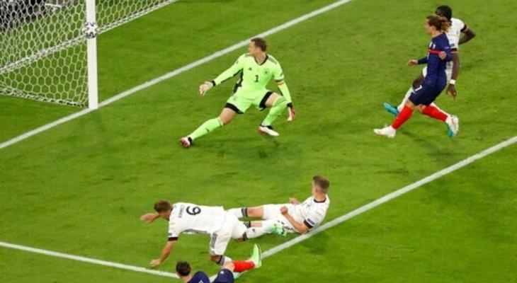 إحصائيات من مباراة فرنسا-ألمانيا