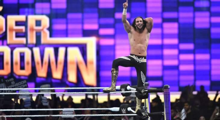 البطل السعودي منصور نجم WWE يسعى لتحقيق الانتصارات وإسعاد المشجعين