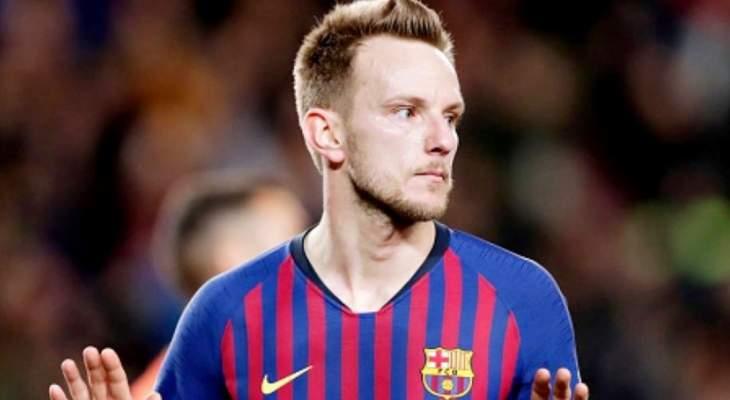 انتر ميلان يقدم عرضا افتتاحيا للاعب برشلونة راكيتيتش