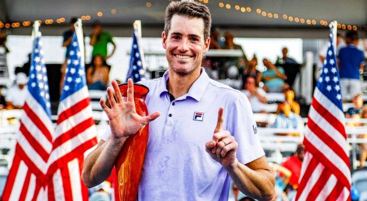 ايسنر يحرز لقب بطولة اتلانتا المفتوحة