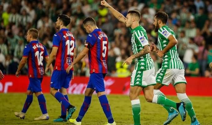 الدوري الإسباني: ريال بيتيس يتعادل مع ايبار في افتتاح الجولة الثامنة