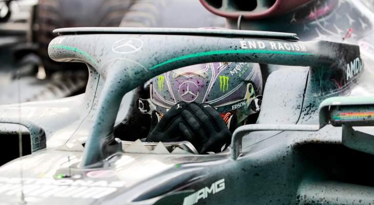 هاميلتون يعبّر عن سعادته بعد الفوز بلقبه السابع في الفورمولا 1