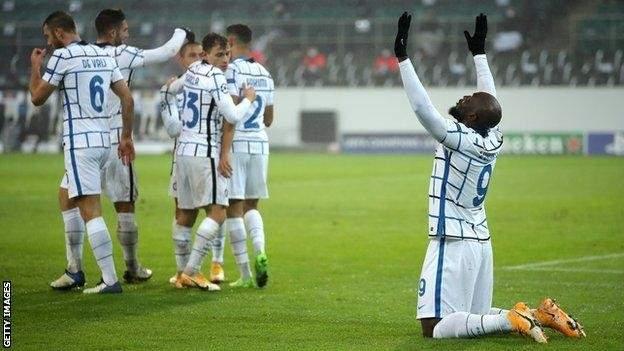 اهداف مباراة انتر وبوروسيا مونشغلادباخ