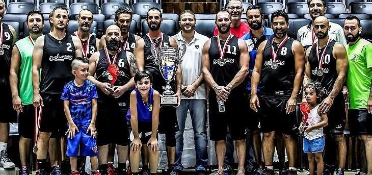 فريق الزوق يحرز لقب بطولة قدامى السلة فوق 40 سنة