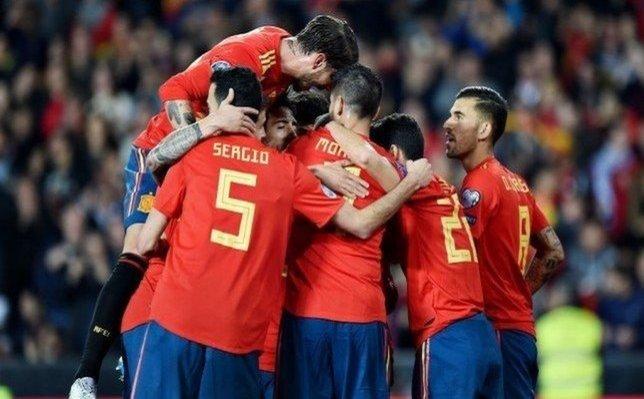لقاحات كورونا لمنتخب اسبانيا إستعداداً لليورو