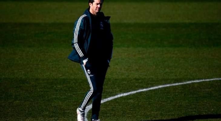 سولاري يأمل في ان يقدم الفريق مباراة جيدة امام برشلونة