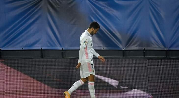 """خاص: لعنة هازارد تُهدد ريال مدريد بـ""""الأسوأ""""!"""
