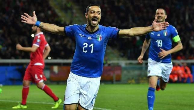 قائمة ايطاليا لمواجهتي اليونان والبوسنة