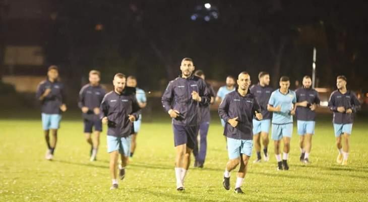 العهد يخوض تمرينه الأول في ماليزيا إستعدادا لنهائي كأس الاتحاد الآسيوي