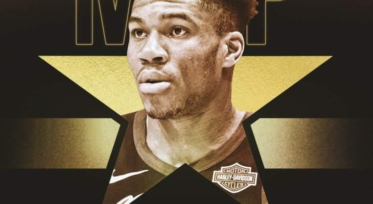 يانيس افضل لاعب  في دوري رابطة محترفي كرة السلة الاميركية